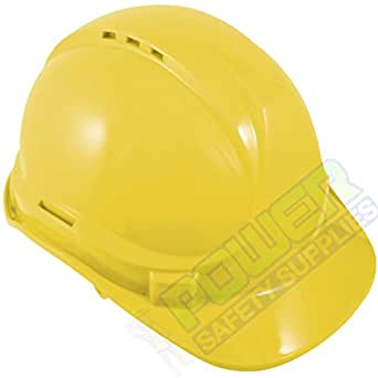 Baratec Hard Hat Safety Helmet - Yellow