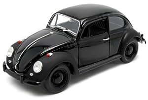 GREENLIGHT COLLECTIBLES - 12827 - Voiture Miniature - VOLKSWAGEN Beetle - Black Bandit - Echelle 1/18