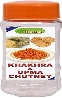 Ridies Khakhra & Upma Chutney-Dry,100g (Pack of 2)