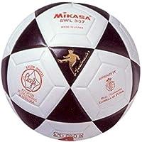 Mikasa SWL-337 - Balón de fútbol Sala, Color Blanco/Negro, 62 cm