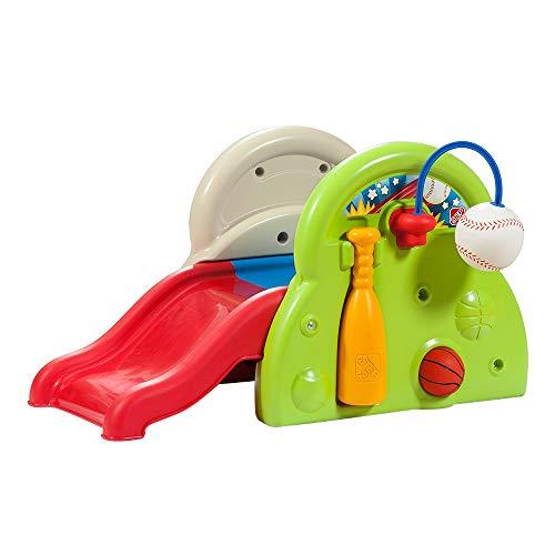 Step 2 - Tobogán mini con juegos deportivos (ColorBaby 85323)