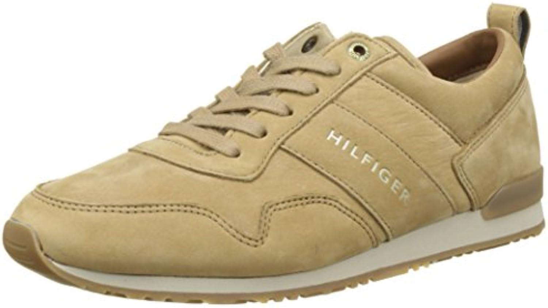 Tommy Hilfiger Herren Iconic Nubuck Leather Runner Sneaker