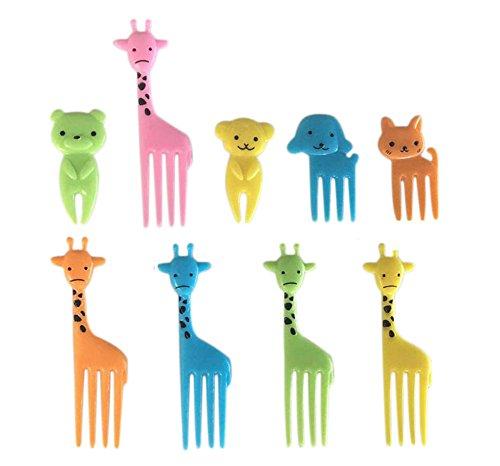 Scrox Eis Stäbchen aus Holz, Eiscreme-Stäbchen für selbstgemachte Eiscreme, Dessertsticks aus Naturholz, Produktfamilie, S, Mignon Mini Fourchette À Fruits Pour Enfants, 10 Pcs