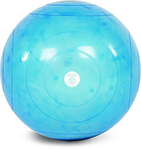 Bosu Vorschaltgerät Gymnastikball, Unisex, transluzentes blau -