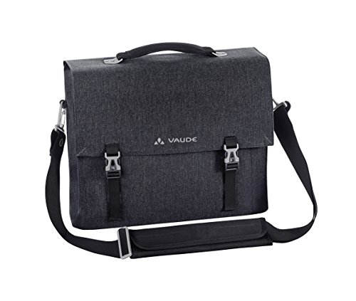 "VAUDE Hiddensee 13.3"" Messenger case Black - notebook cases (33.8 cm (13.3""), Messenger case, Black, Polyamide, Polyester, Polyurethane, Monotone, 340 mm) Monotone"