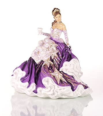 The English Ladies Co. Figurine Congratulations - Amethyst