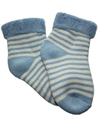 Weri Spezials. Babyplüschsocke mit Umschlagrand. Sockchen zum kuscheln.