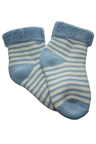 Baby plush socks inside-edge.: Size: 18-19 (9-12 months), Color: light Blue (Quality and a great price directly from the