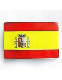 Bandera de España con hebilla, hebilla, Viva Espania