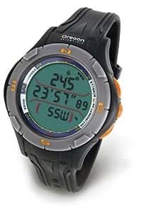 oregon scientific outdoor uhr mit digitalem kompass ra 126 antrahzit sport freizeit. Black Bedroom Furniture Sets. Home Design Ideas