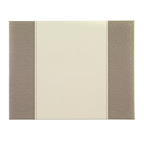 Indulje HY283313 Set of 4 Cream Mosaic Tile Embossed Placemats