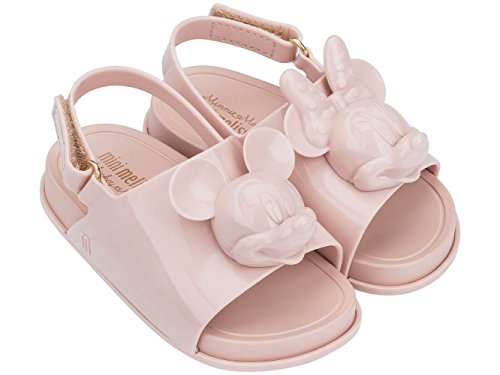 Melissa Mini Disney Strand Rutsche Kunststoff Slingback Sandale Blush Size 6 - Mini-slingbacks