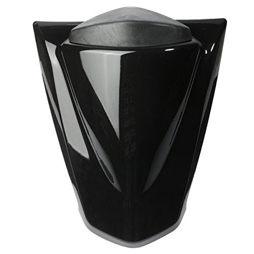 JenNiFer Copertura Sedile Posteriore Carenatura Cappuccio Per Kawasaki Ninja Zx250R Zx250 08-12 - Nero