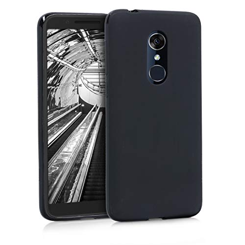 kwmobile Alcatel 3 / 3L (2018) Hülle - Handyhülle für Alcatel 3 / 3L (2018) - Handy Case in Schwarz matt