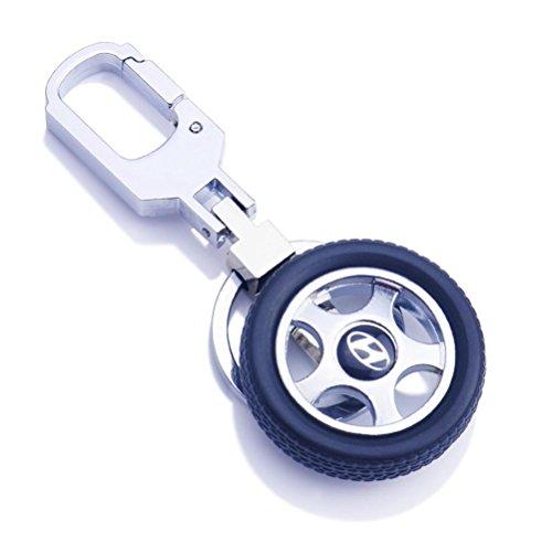 ZPL Catene chiave moda creativa pneumatico auto in lega