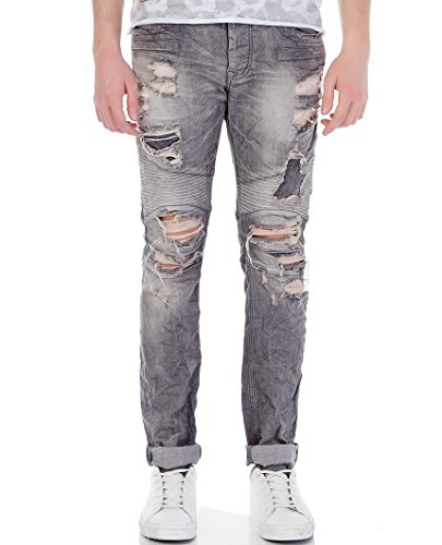 Red Bridge - Jeans - Homme Gris - Gris