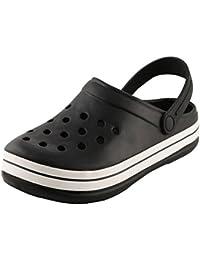 World Wear Footwear Men Black EVA Sandals & Floaters