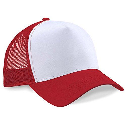 BEECHFIELD HALF MESH TRUCKER BASEBALL CAP