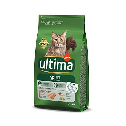 Ultima Pienso para Gatos Adultos con Salmón - 1.5 kg