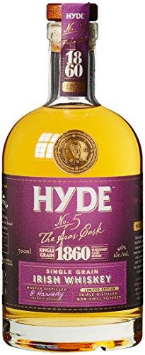 Hyde No. 5 The Aras Cask 1860 Limited Edition Burgundy Cask Finish Whisky (1 x 0.7 l) (Burgundy Finish)