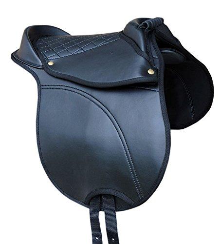 SHETTY Sattel Reitkissen mit Haltegriff verstellbare Sattelkissen auch für Holzpferd auch für Holzpferde geeignet Größe Shetty