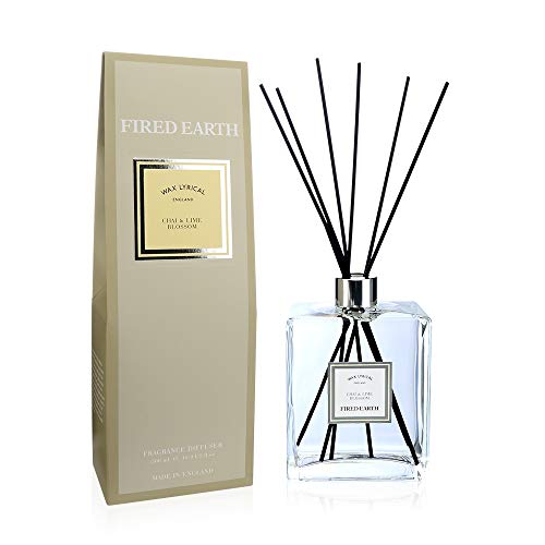 FIRED EARTH Collection - Reed Diffuser Chai & Lime 500 ml Reed & Amp