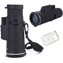 UrChoiceLtd® 2017 Panda 35x50 zoom de enfoque al aire libre portátil HD impermeable Handheld Monocular Telescopio + Muli-function portátil tarjeta de herramientas como regalo