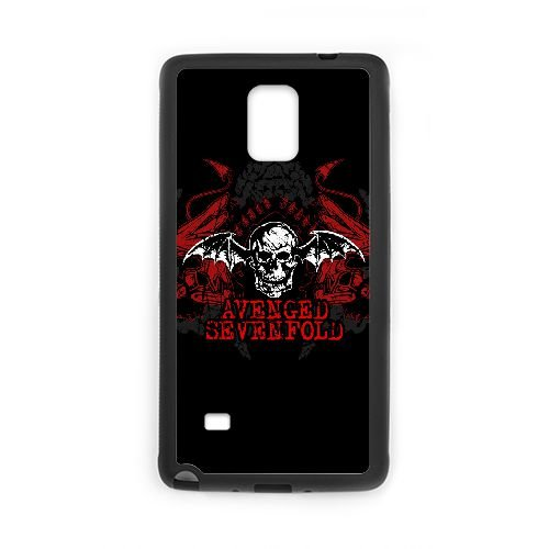 Samsung Galaxy Note 4 Cell Phone Case Black Avenged Sevenfold - Sevenfold Avenged Access All