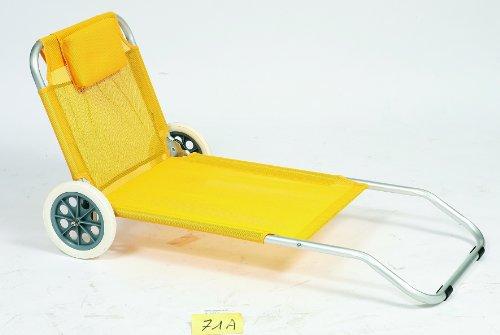 Aucune - Chaise Longue (transat) 5 Positions Textilène