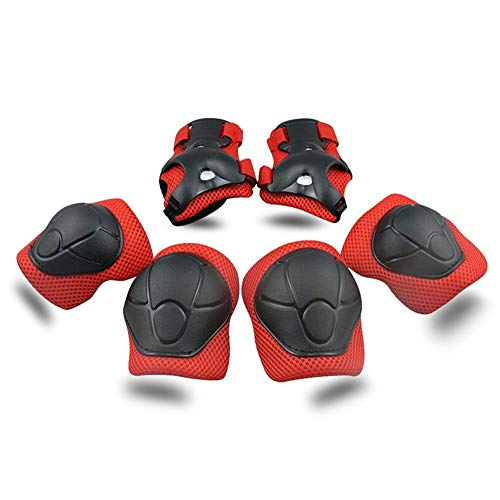Towinle Kinder Schonersets, Protektorenset Knieschoner Ellenbogenschützer Handgelenkschoner Schutzset für Kinder Hand-Knie, Ellenbogen Pads und Gel Pads