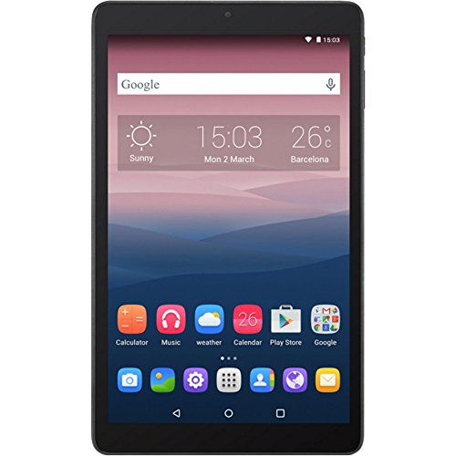 Alcatel One Touch Pixi 3 10-Inch Tablet (Black) - (1.3 GHz Quad-Core Processor, 1 GB RAM, 8 GB Storage, Android 5.0)