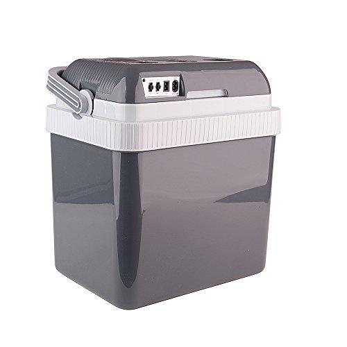 Auto Companion - Frigo elettrico portatile, per tenere le pietanze calde o fredde, alimentazione a 240 V CA o 12 V, capacità: 24 L