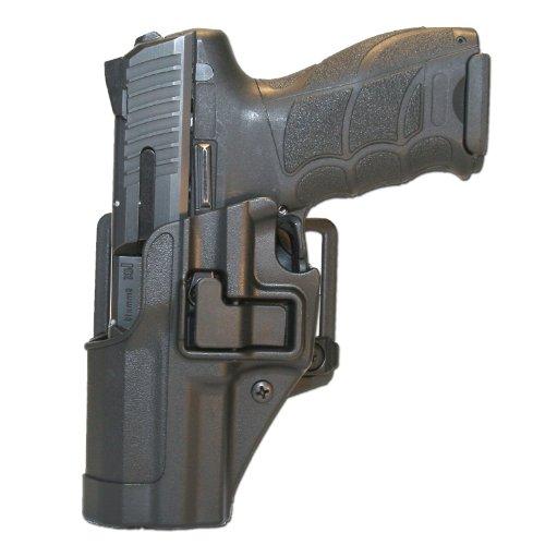 Blackhawk CQC Holster schwarz H&K P30 LH