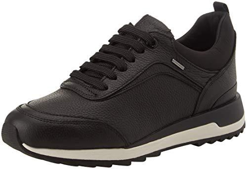 Geox Women's D Aneko B ABX A Low Top Sneakers, (Black C9999), 5 UK