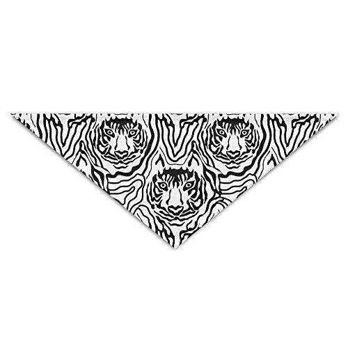 Gorgeous Socks Niedliche Tiere drucken Tiger Zebra Polyester Fiber 100% Pet Schals Zubehör einstellbar für alle Größen Hunde Katzen Haustiere -