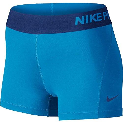 Nike Pro Cool Short Pour Femme A Rouge Large7 6 Cm