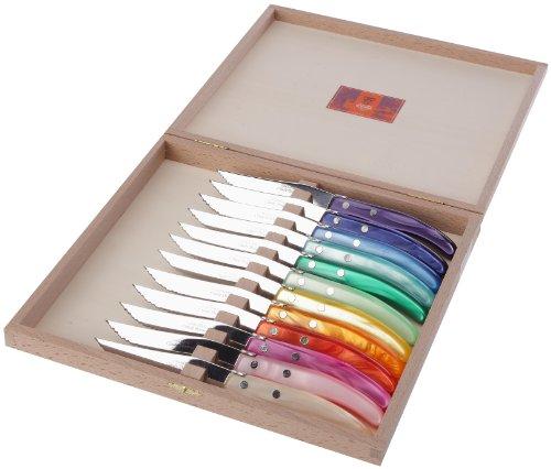 Claude Dozorme 2.13.074.15 Berlingot Total - Set de 12 cuchillos (mang