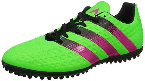 adidas Herren Ace 16.3 Tf Fußballschuhe Grün / Pink / Schwarz (Versol /  Rosimp /