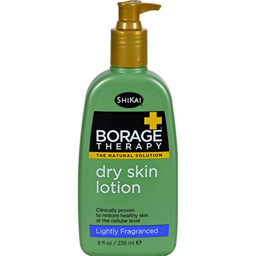 ShiKai Borage Natural Therapy Dry Skin Lotion, Lightly Fragranced Formula, 8 Ounce by ShiKai