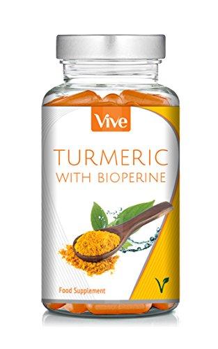 Turmeric-with-BioPerine-120-Vegetarian-Capsules-Curcumin-Turmeric-Supplement-100-Natural-Supplement-Satisfaction-Guarantee