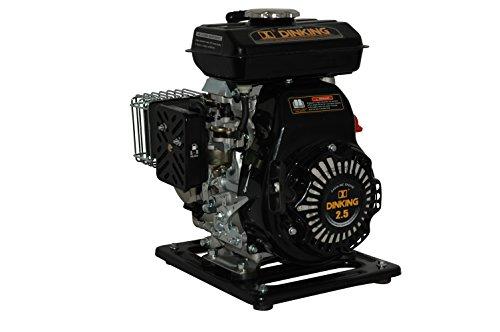 YERD Benzin-Wasserpumpe BW QDZ25-35 (4-Takt Motor, 1,5 PS, 1″ Zoll Anschlüsse) - 2
