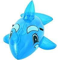 Bestway 41037B Inflatable Pool Float, Transparent Jumbo Whale Ride on Lilo Lounger