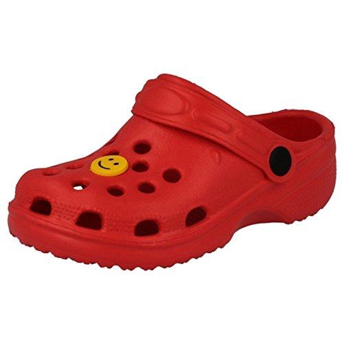 Carcassi - Scarpe con cinturino alla caviglia Unisex per bambini Red