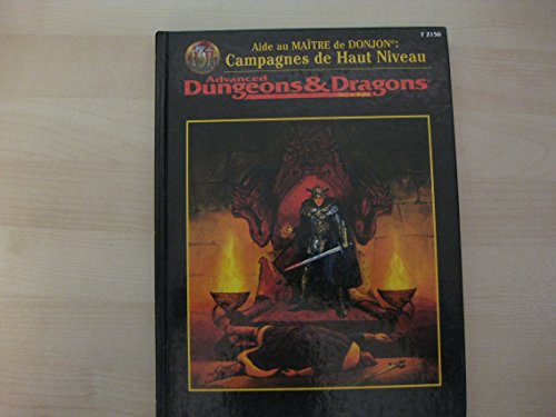Advanced dungeons & dragons: Campagnes de Haut Niveau.