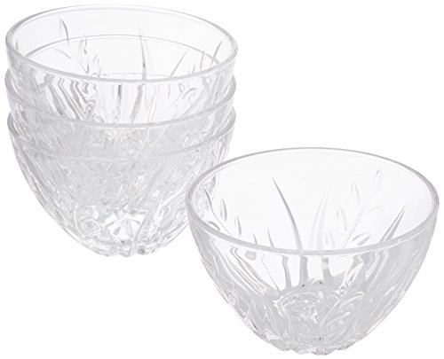 Arc International Cristal d'Arques Cassandra Diamax Bowl, 5-Inch, Set of 4 by Arc International