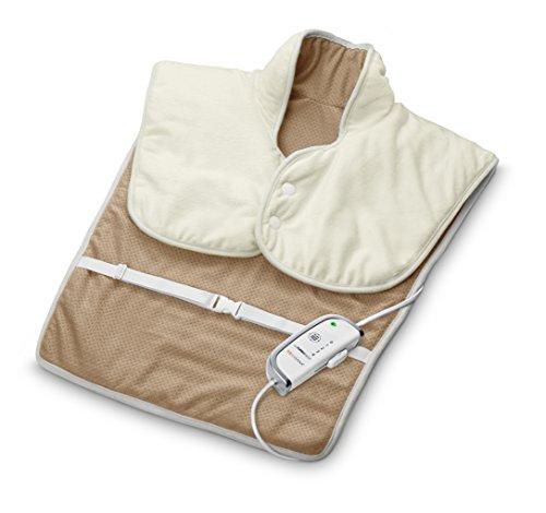 Medisana HP 630 Heizkissen für den Schulter und Rückenbereich 61157, Wärmekissen mit 4 Temperaturstufen, Größe: ca. 55 x 65 cm, waschbar