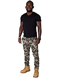 Pantalons pour hommes skinny - Camouflage Pantalon Cargo Pantalon Homme pantalon SKINNYCAMOARMY