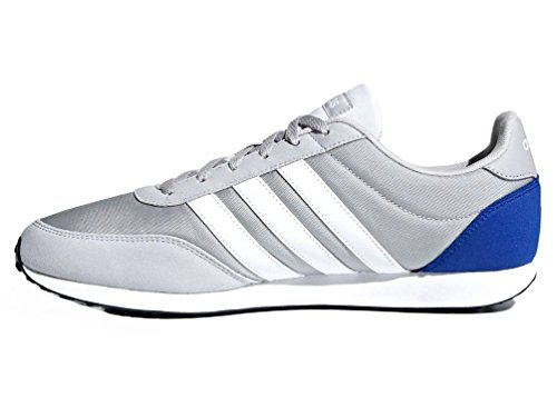 adidas V Racer 2.0, Chaussures de Gymnastique Homme Gris (Grey Two F17/ftwr White/collegiate Royal)
