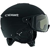 Cébé Element Visor Cascos de ski, Unisex Adulto, Matt Black Silver, ...