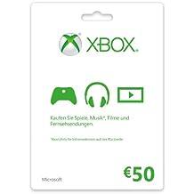 Xbox Live - 50 Euro Guthabenkarte [Importación Alemana]